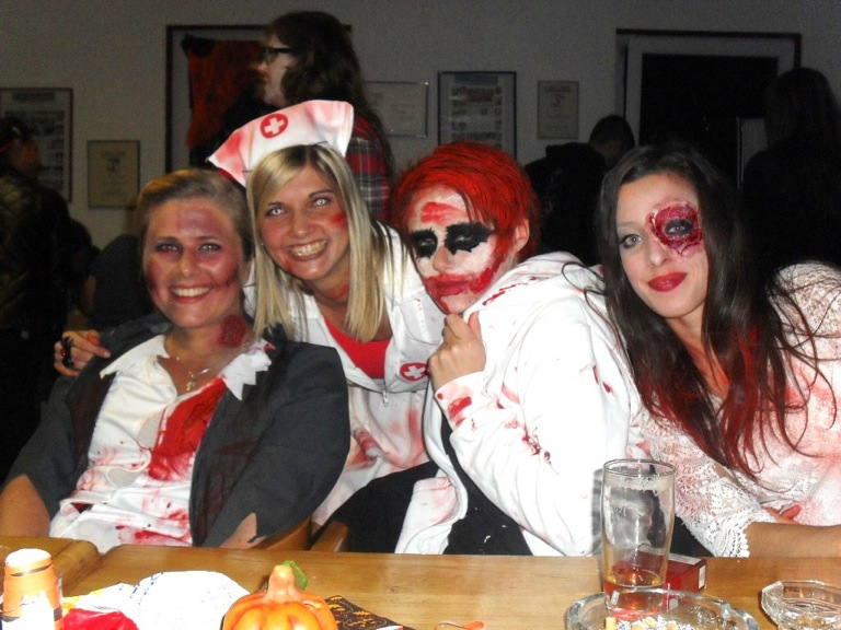 Halloween Party im Clubhaus